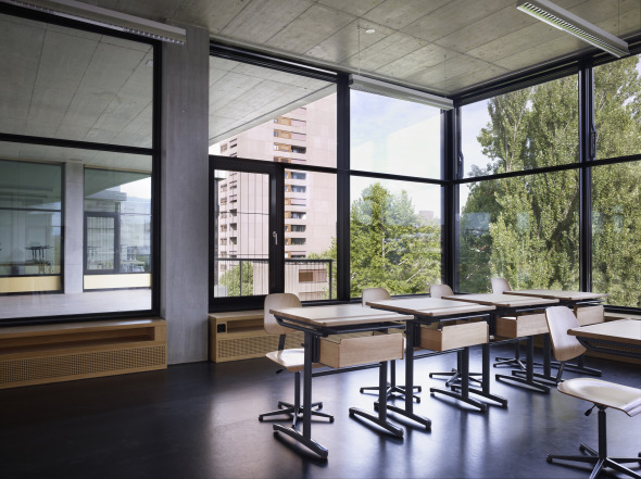 Klassenzimmer © BGS & Partner Architekten