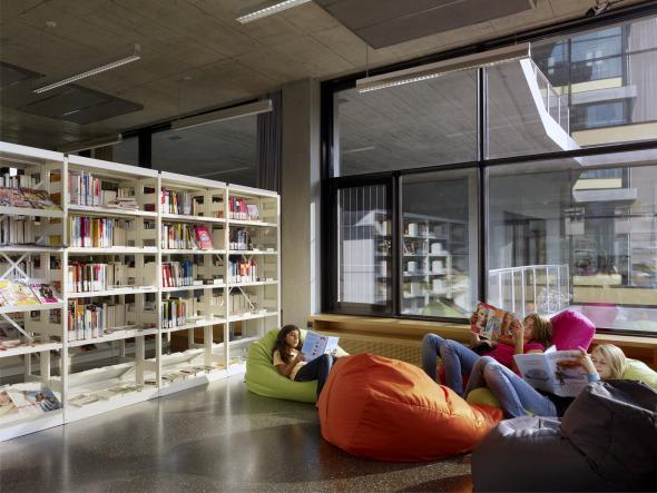 Bibliothek © BGS & Partner Architekten