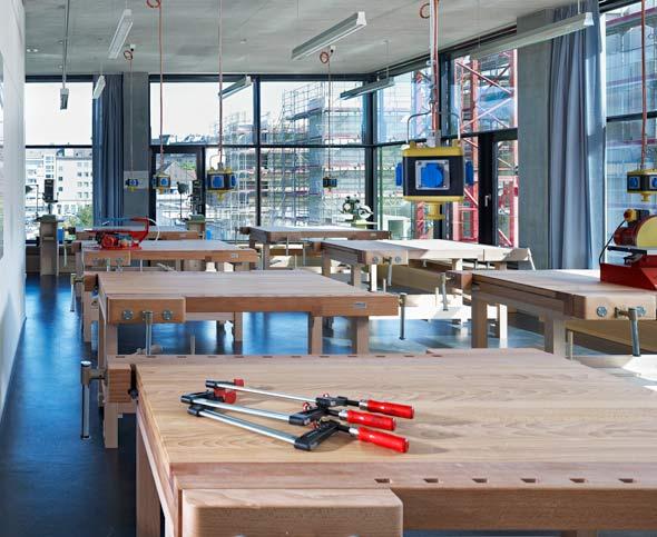 Holzwerkstatt © BGS & Partner Architekten