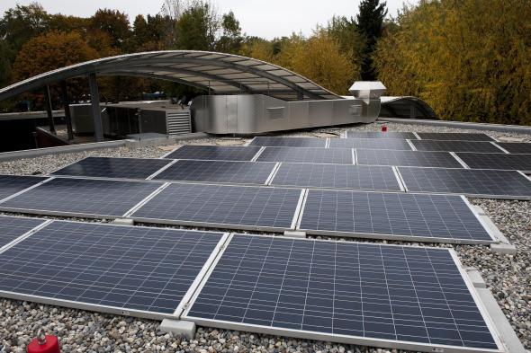 Détail - Panneaux photovoltaïques