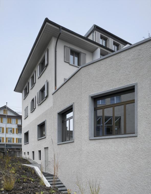 Verschmelzung alt und neu Bild: Roger Frei, Zürich © Roger Frei