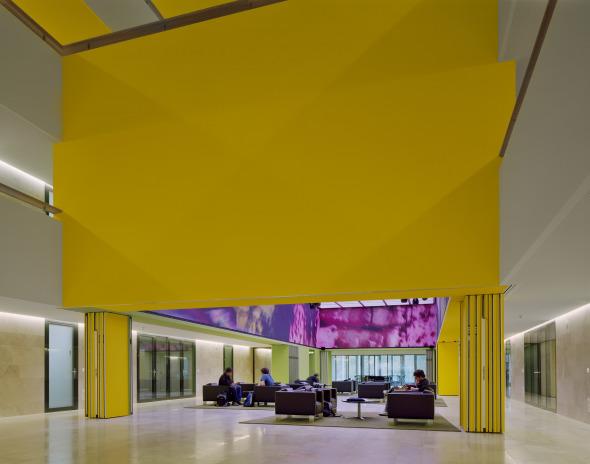 Zentrale Halle © Arch Photo Inc.