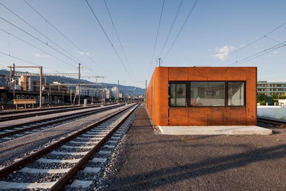 Nordfassade © Philippe Hubler Fotografie