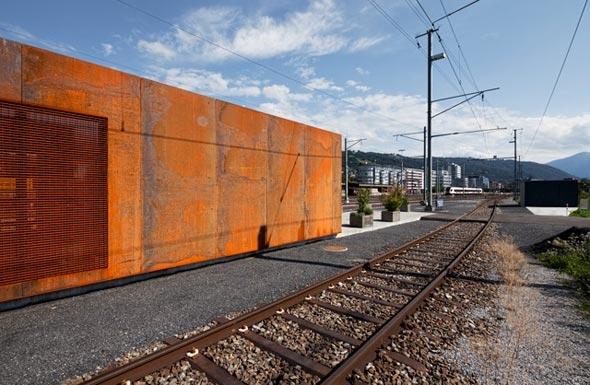 Westfassade-Ausschnitt © Philippe Hubler Fotografie