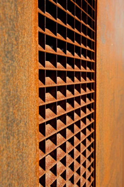 Fassadendetail © Philippe Hubler Fotografie
