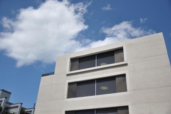 Ausschnitt Seitenfassade