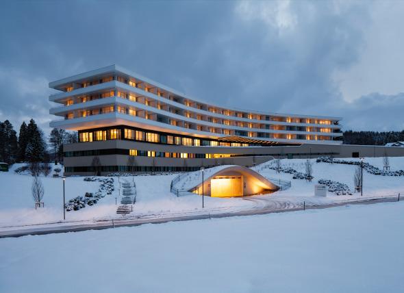 Kurhaus Oberwaid St. Gallen © Can Isik; Hannes Thalmann