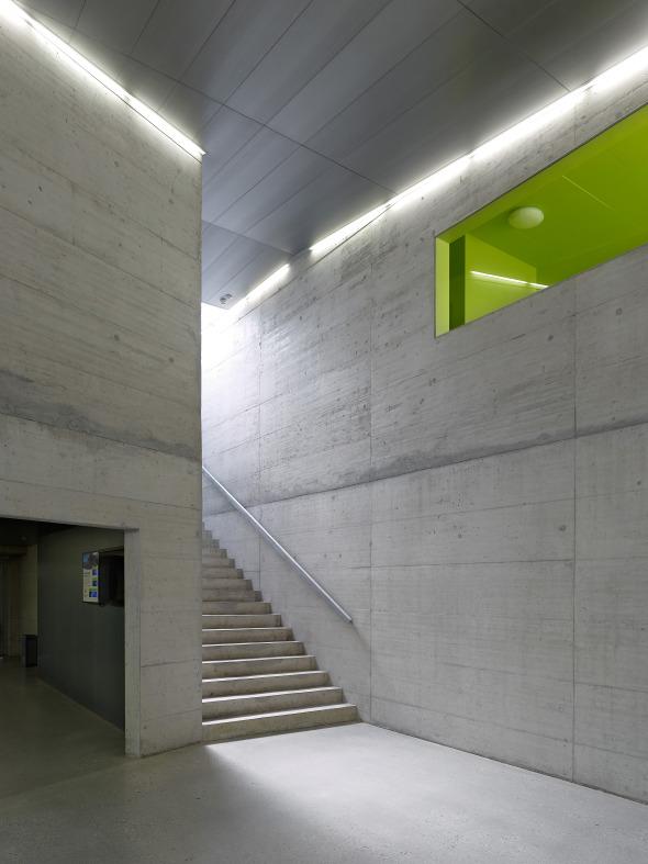 accès tribunes © Thomas Jantscher