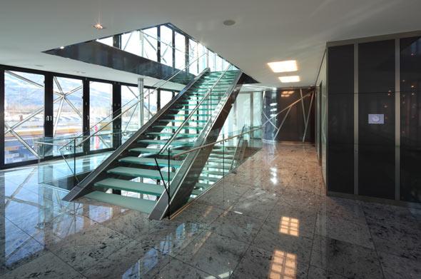 Treppe © Fotograf: Günter Laznia