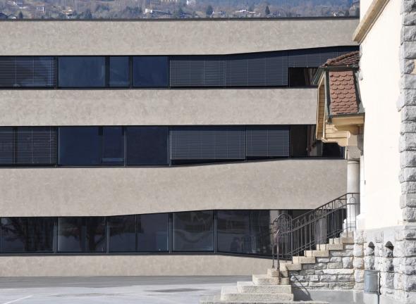 façade ©  savioz fabrizzi architectes