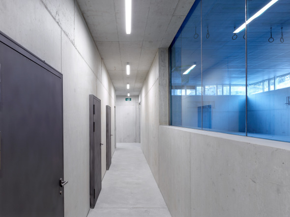 couloirs vestiaires © thomas jantscher