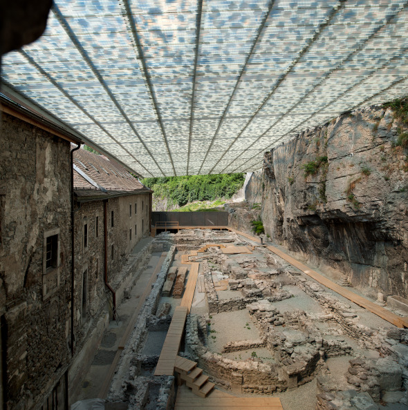 ruines archéologiques  © photo : thomas jantscher