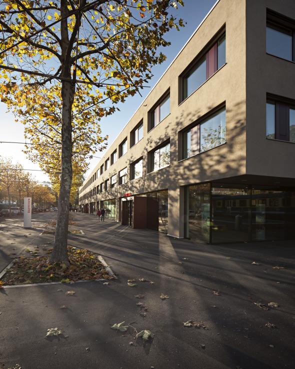 Gesamtansicht © von allmen architekten ag, Foto R. Baumer
