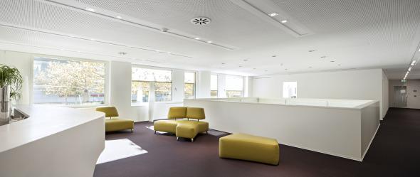 1. Obergeschoss  © von allmen architekten ag, Foto R. Baumer