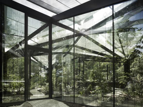 Eingangsbereich © Markus Bertschi, Ladina Bischof, Christoph Estrada Reichen