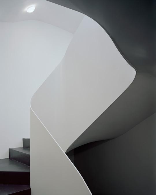 vue de l'escalier © Daniela Droz & Tonatiuh Ambrosetti