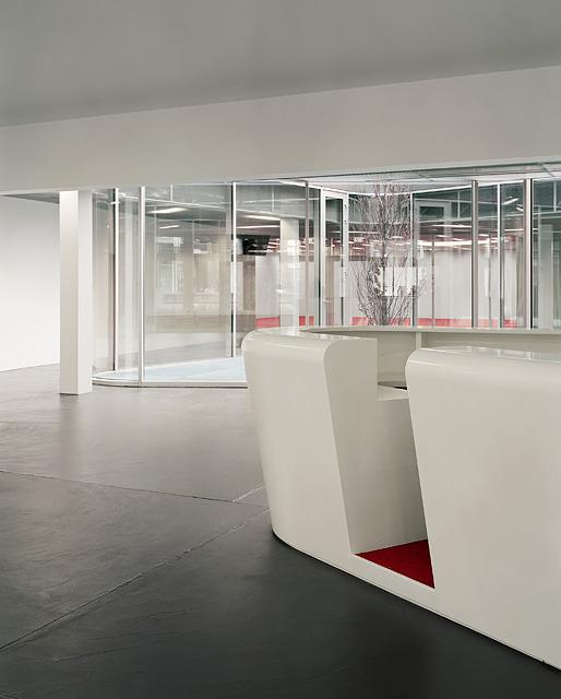 vue du hall d'entrée © Daniela Droz & Tonatiuh Ambrosetti