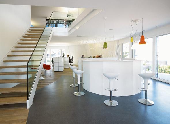 Innenansicht Büro Parterre © bfarchitekten.ch