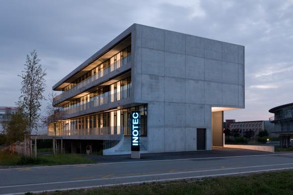 Fassadenansicht Büros (Süden) © Beat Bühler