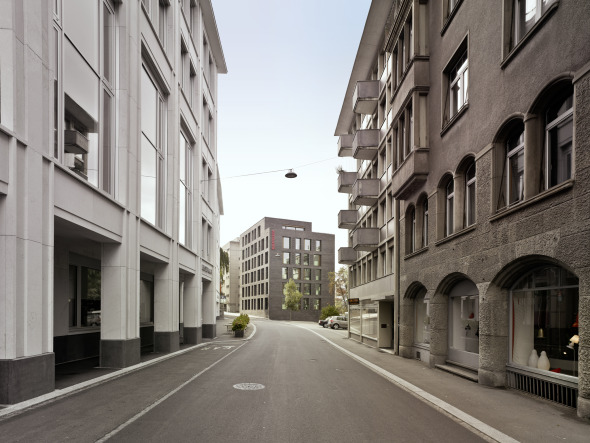 Bleicheli-Quartier der Stadt St. Gallen © K&L Architekten © K&L Architekten