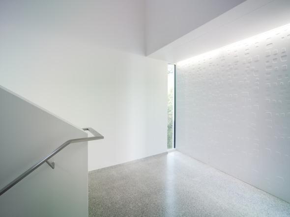 Treppenhaus mit Kastenfenstern  © K&L Architekten