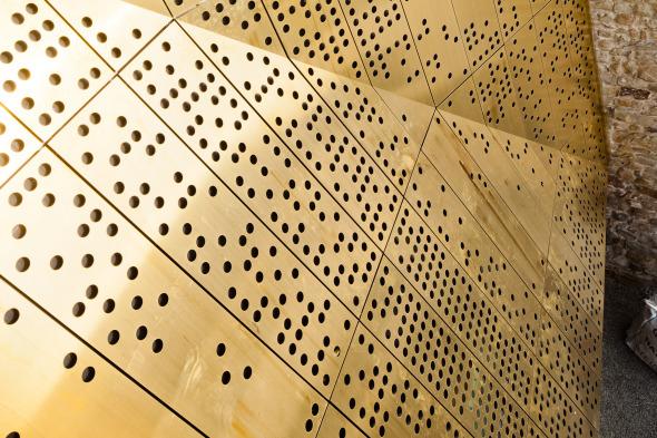Fassade Perforation © Dominique Marc Wehrli