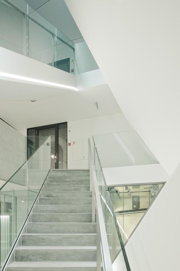 Treppenraum 02 © Dominique Marc Wehrli