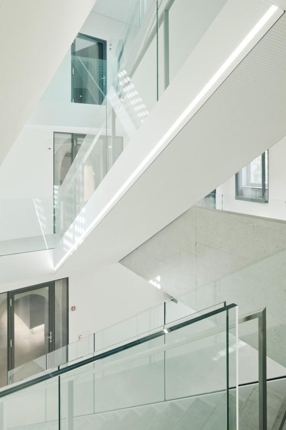 Treppenraum 03 © Dominique Marc Wehrli