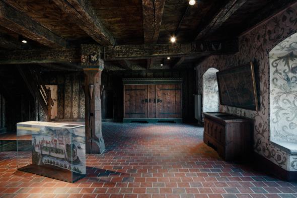 Brenyhaus gotische Halle © Dominique Marc Wehrli