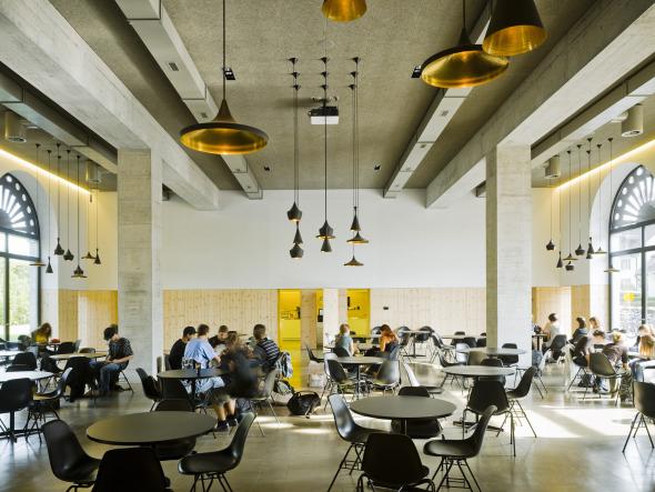 Cafeteria © Wehrli Müller Fotografen, Unterengstringen