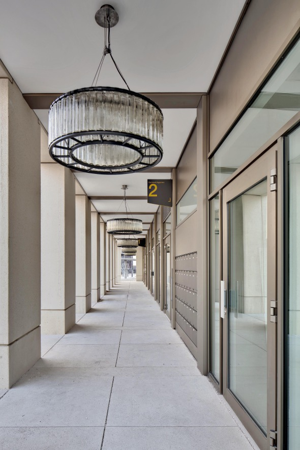 Arkade − städtischer Raum und Eingangsbereich © René Dürr