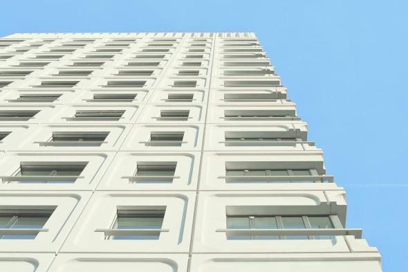 Tektonik der Fassade © Jürg Zimmermann
