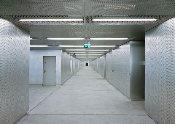 Erschliessungsraum Unterrichtszimmer  © Georg Aerni, Zürich