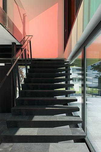 Treppe © HEGI KOCH KOLB  + PARTNER ARCHITEKTEN AG