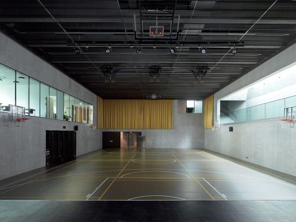 salle polyvalente © Thomas Jantscher