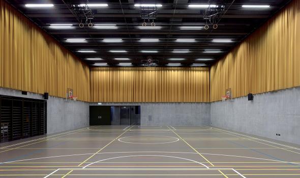 salle polyvalente photo © Thomas Jantscher