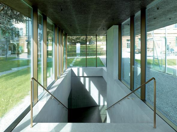escalier pavillon photo © Thomas Jantscher