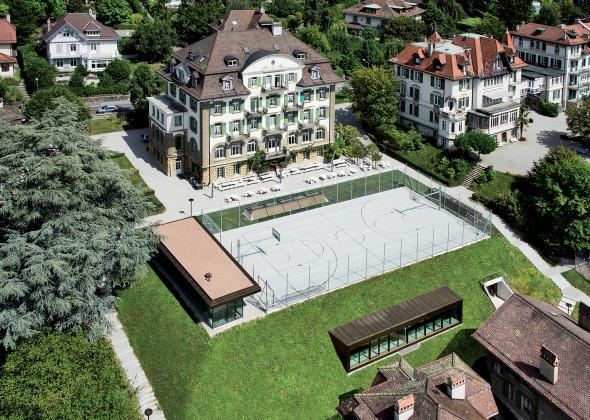 vue aérienne photo  © Nicolas Sedlatchek