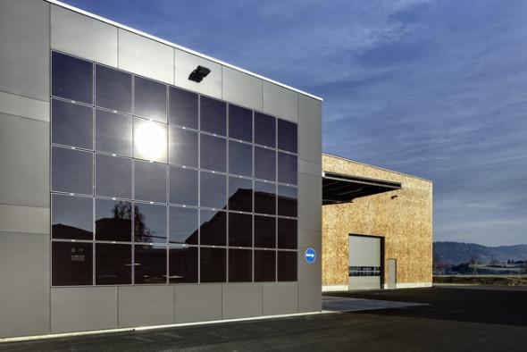 Photovoltaikanlage bei der Anlieferung © Renggli AG