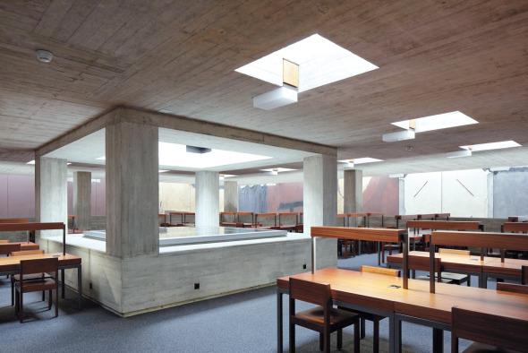 Zone de travail, bâtiment principal, 3e étage © rlc AG