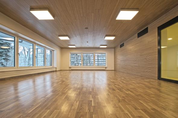 Gymnastikraum © Kimlim Architekten