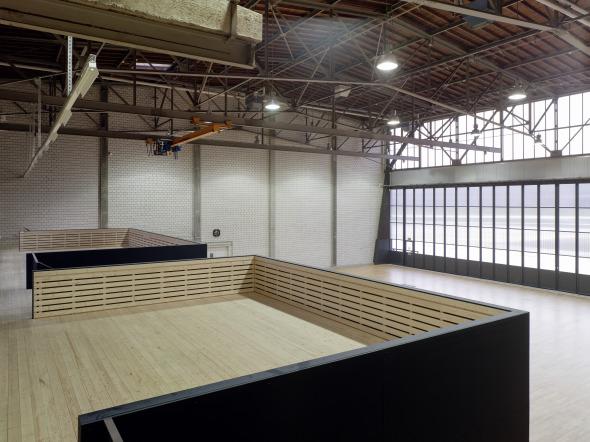 Büro- und Aufenthaltsräume bieten zugleich auch Lagermöglichkeiten an © Jean-Pierre Grüter