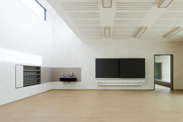 Salle de classe © Beat Bühler