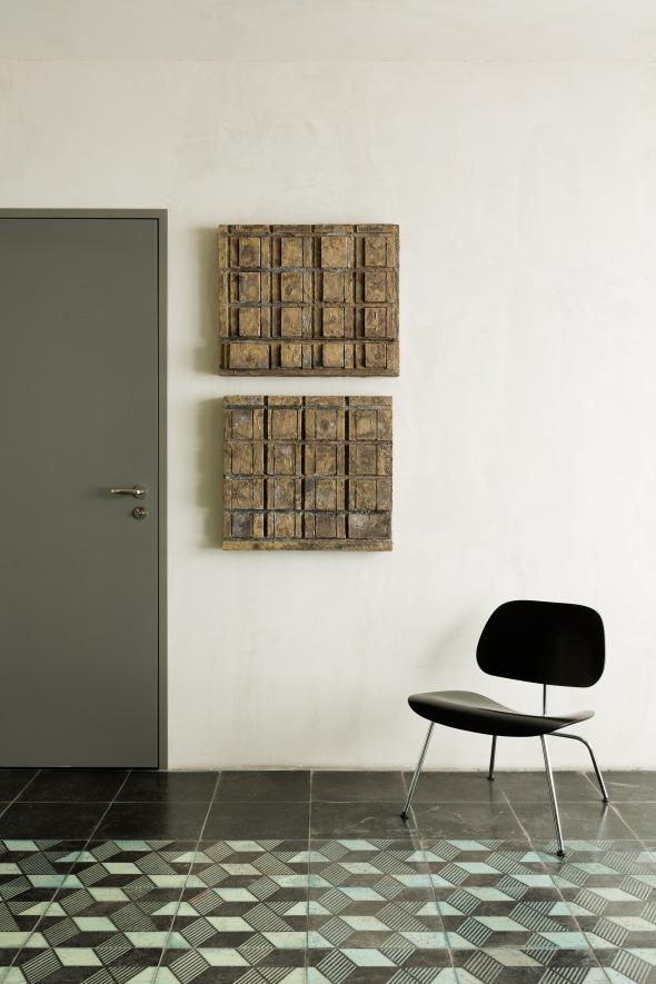 Blick auf Reliefs © Beat Bühler