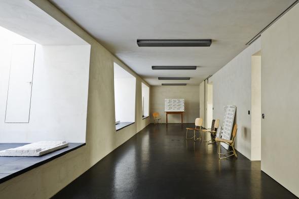 Belichteter Arbeitsraum im UG © Beat Bühler