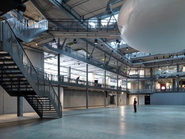 Arena Innenraum © René Schmidt Architekten AG