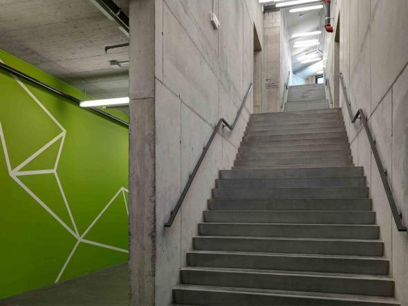 vorderes Treppenhaus © René Schmidt Architekten AG