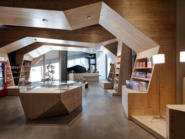 Shop | Ausgang © René Schmidt Architekten AG
