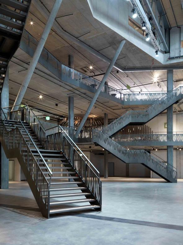 Arena | Vertikalerschliessung © René Schmidt Architekten AG