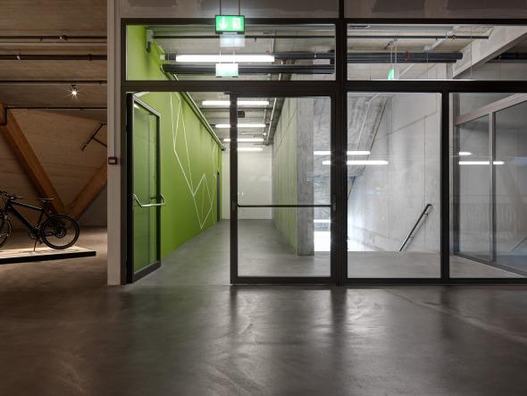 Zugang | Erschliessung zum 2./3. Obergeschoss © René Schmidt Architekten AG